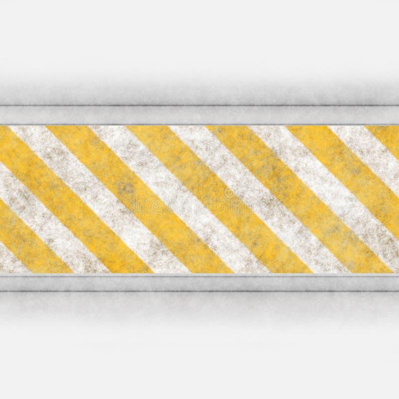 λωρίδες χάλυβα κινδύνου ελεύθερη απεικόνιση δικαιώματος