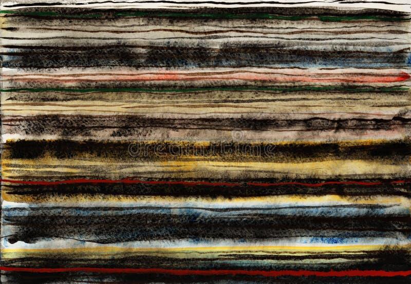 Λωρίδες Grunge στοκ εικόνες