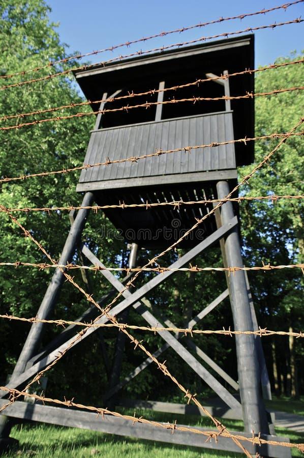 Λόγοι στρατόπεδων διέλευσης Westerbork στοκ εικόνες