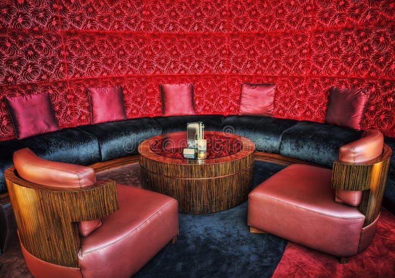 Λόμπι ξενοδοχείων του Αμπού Ντάμπι στοκ εικόνες