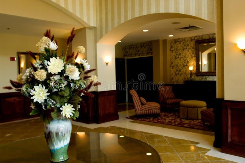 λόμπι ξενοδοχείων στοκ εικόνες