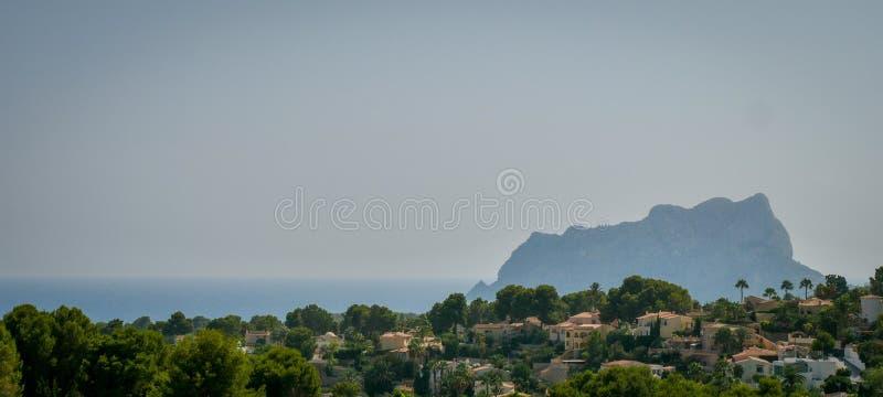 Λόφοι από τη Μεσόγειο στοκ εικόνα