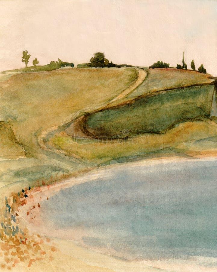 Λόφοι στην Κριμαία απεικόνιση αποθεμάτων