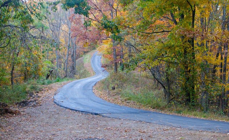 Λόφοι της δυτικής Βιρτζίνια στοκ εικόνα με δικαίωμα ελεύθερης χρήσης