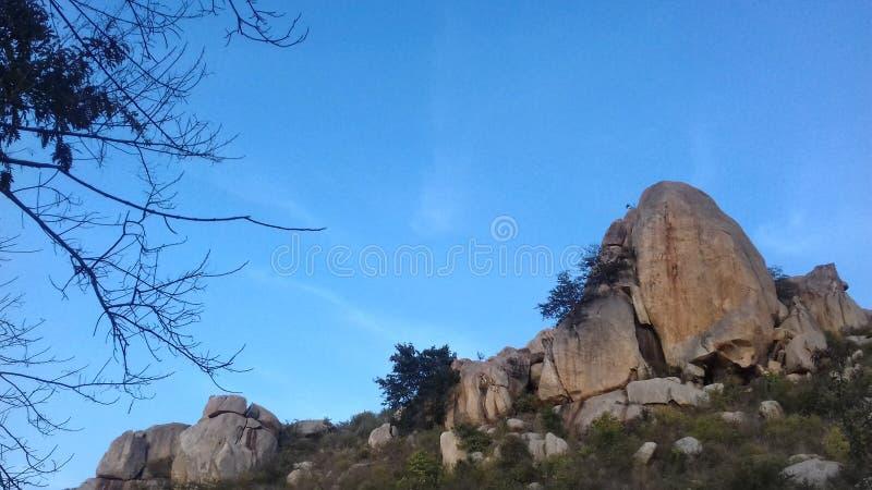 Λόφοι Horsley, Chittoor, Άντρα Πραντές στοκ φωτογραφία