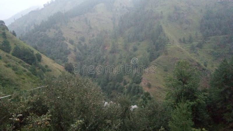 Λόφοι Shimla θέας βουνού στοκ εικόνες