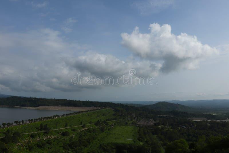 Λόφοι Shivalik - φράγμα Pong - τοπίο σε Himachal Pradesh, Ινδία στοκ φωτογραφία με δικαίωμα ελεύθερης χρήσης