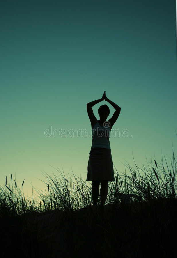 λόφος Θεών που προσεύχε&tau Στοκ φωτογραφία με δικαίωμα ελεύθερης χρήσης