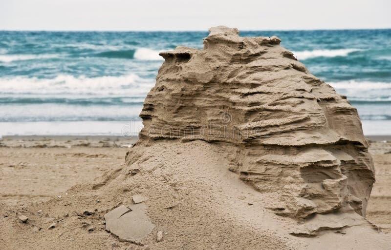 λόφος κοντά στη θάλασσα άμ&mu στοκ εικόνα