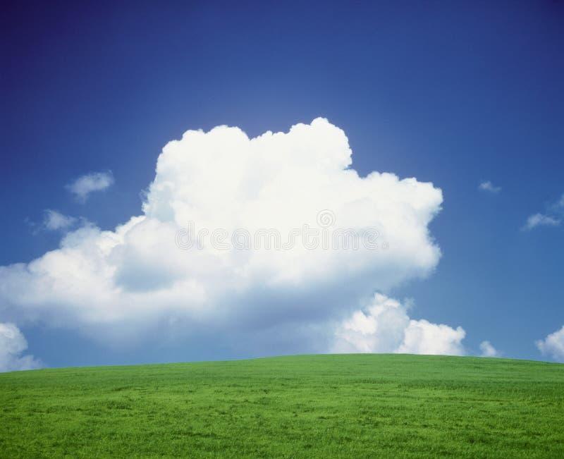 λόφος σύννεφων στοκ εικόνα