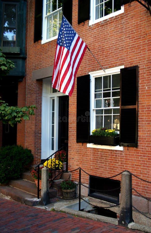 λόφος της Βοστώνης αναγνωριστικών σημάτων στοκ εικόνα με δικαίωμα ελεύθερης χρήσης
