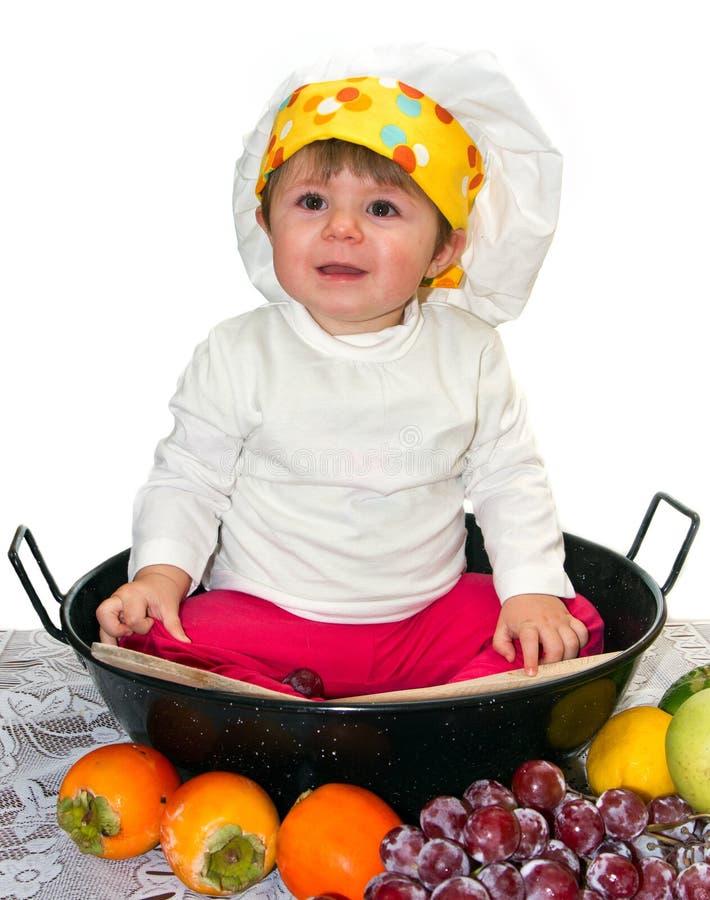 Μάγειρας μωρών Στοκ Εικόνα