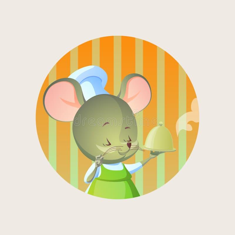 Μάγειρας ποντικιών ελεύθερη απεικόνιση δικαιώματος