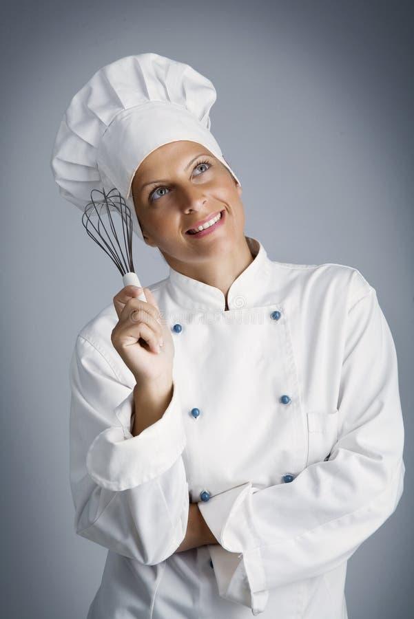 μάγειρας σε αυτά που στοκ φωτογραφία