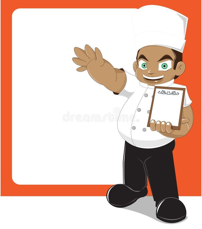 μάγειρας απεικόνιση αποθεμάτων