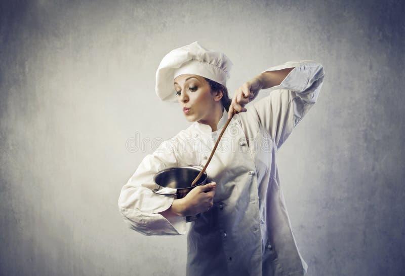 μάγειρας στοκ εικόνα με δικαίωμα ελεύθερης χρήσης