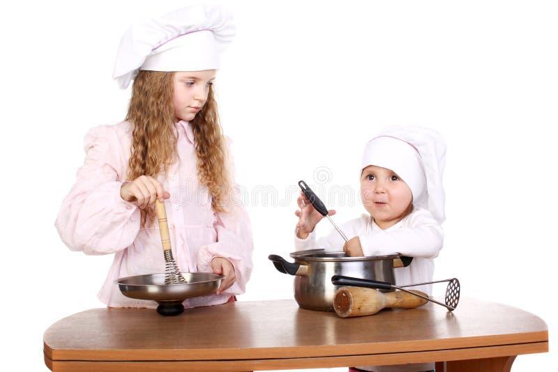 μάγειρες στοκ φωτογραφία