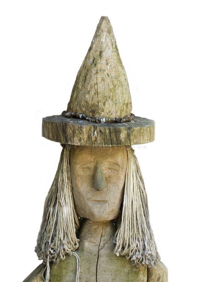 μάγισσα ξύλινη στοκ φωτογραφίες με δικαίωμα ελεύθερης χρήσης