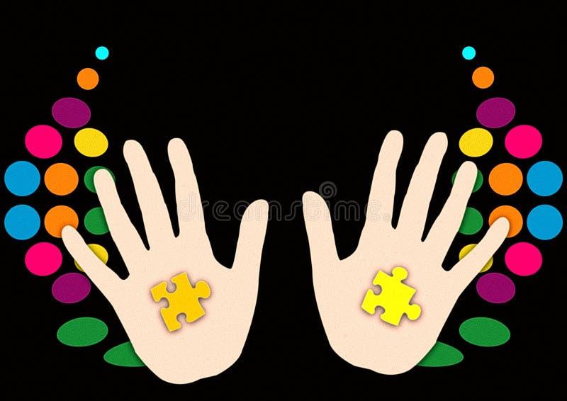 μάγος χεριών απεικόνιση αποθεμάτων