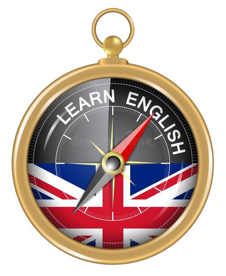 Μάθετε τα αγγλικά ως έννοια ελεύθερη απεικόνιση δικαιώματος