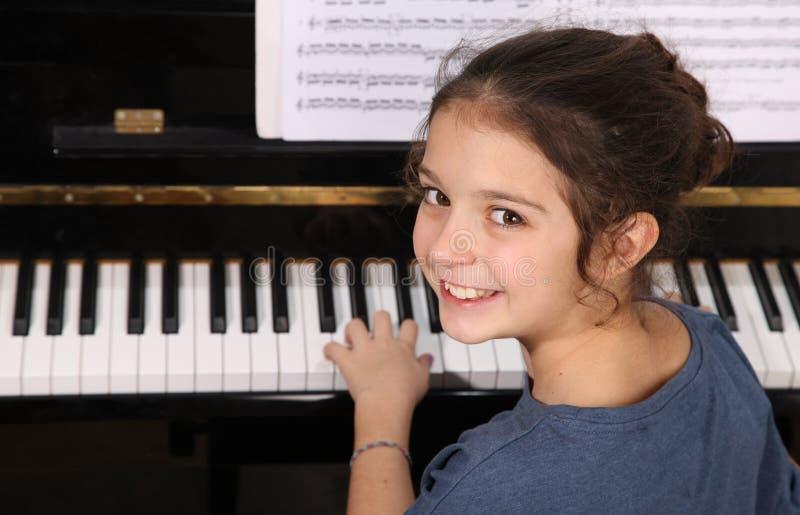 Μάθημα πιάνων στοκ εικόνα