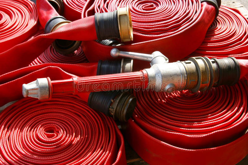 Μάνικα πυρκαγιάς στοκ εικόνες με δικαίωμα ελεύθερης χρήσης