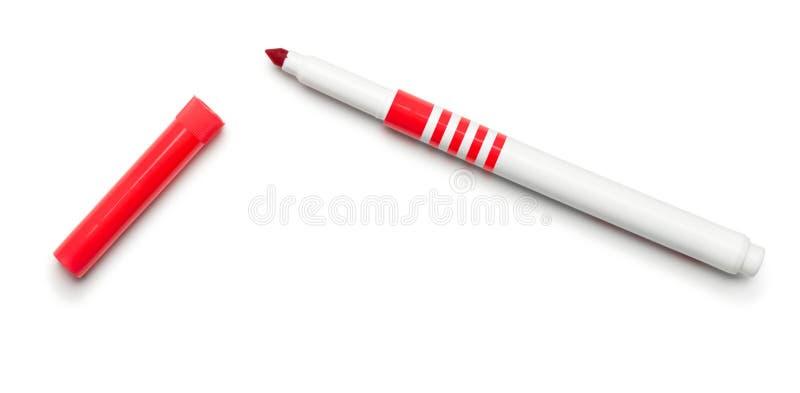 Μάνδρα ακρών πιλήματος στο λευκό στοκ φωτογραφία με δικαίωμα ελεύθερης χρήσης