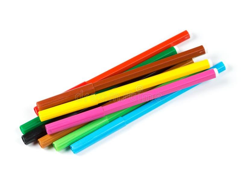 Μάνδρες δεικτών χρωμάτων στοκ εικόνα