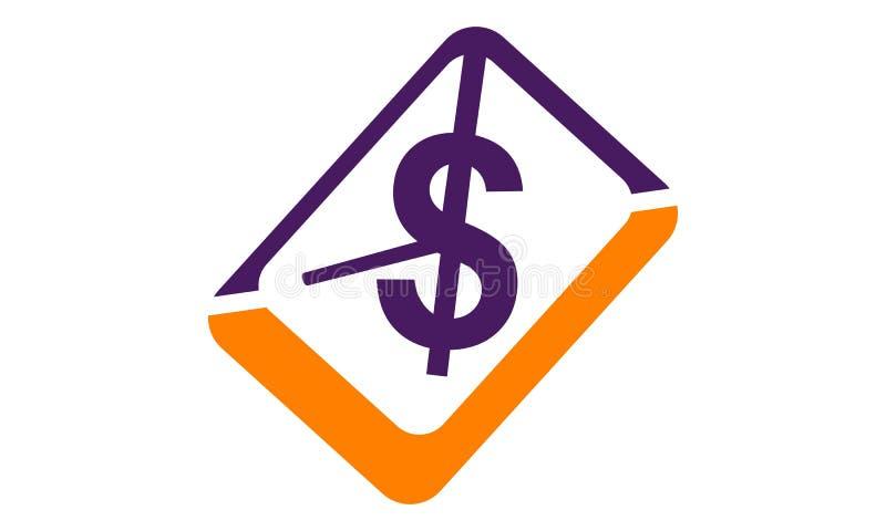 Μάρκετινγκ ηλεκτρονικού ταχυδρομείου Monetize απεικόνιση αποθεμάτων
