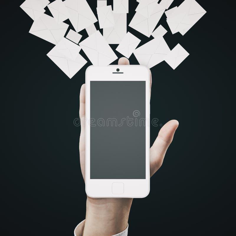 Μάρκετινγκ ηλεκτρονικού ταχυδρομείου στοκ φωτογραφίες με δικαίωμα ελεύθερης χρήσης