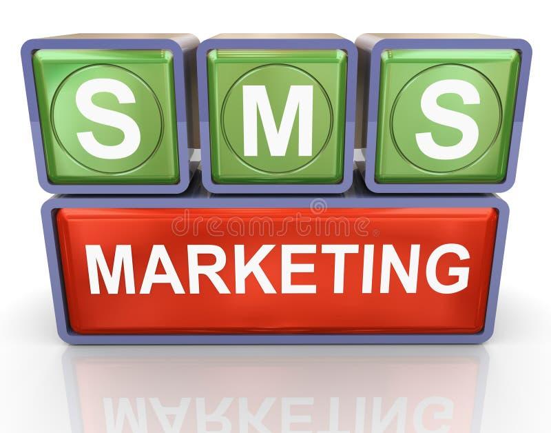 μάρκετινγκ sms διανυσματική απεικόνιση