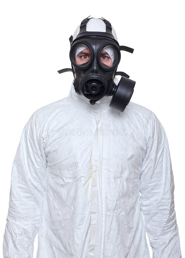 μάσκα ατόμων αερίου στοκ φωτογραφία