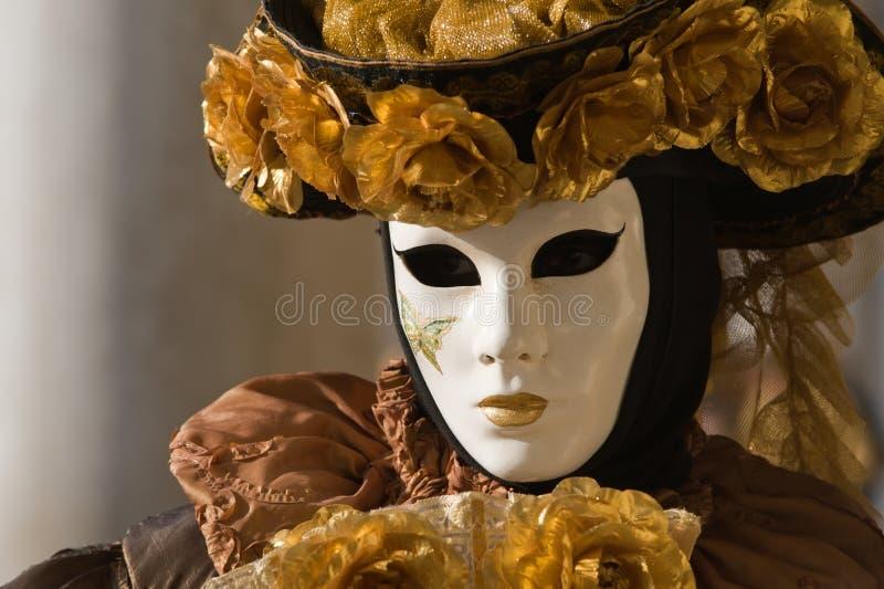 μάσκα Βενετός στοκ φωτογραφία
