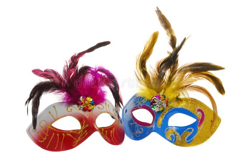 μάσκα δύο στοκ εικόνες με δικαίωμα ελεύθερης χρήσης