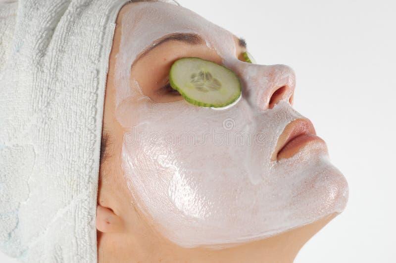 Download μάσκα ομορφιάς στοκ εικόνες. εικόνα από χαλάρωση, cleansing - 2232052