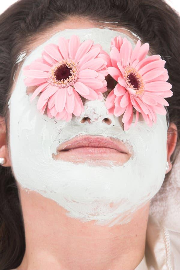 μάσκα ομορφιάς στοκ εικόνες