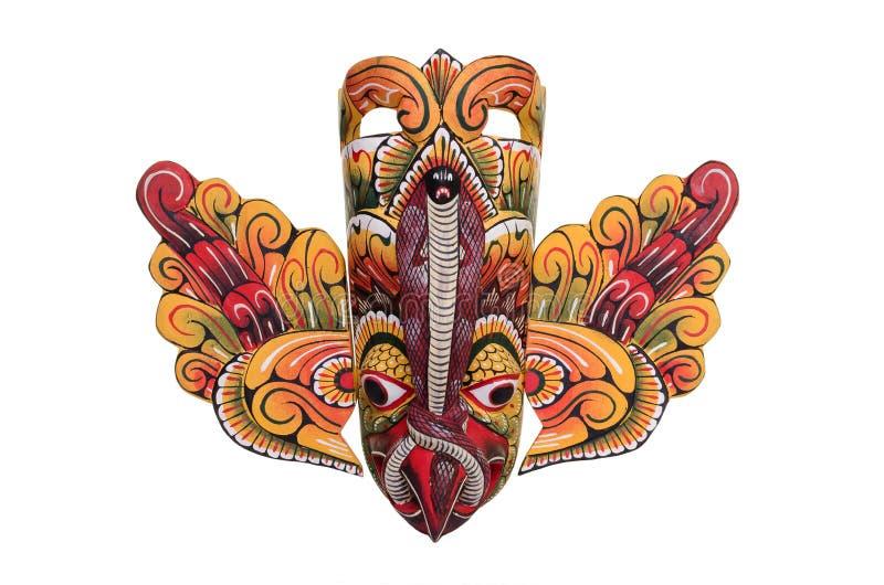 Μάσκα πουλιών Lankan Sri στοκ εικόνα