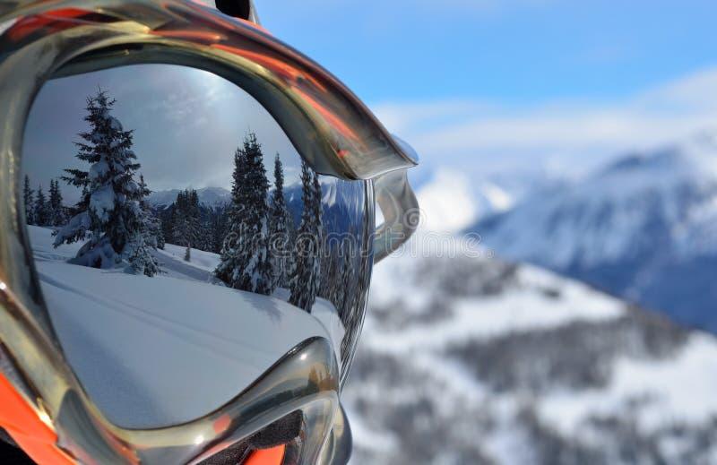 Μάσκα σκι στοκ εικόνες με δικαίωμα ελεύθερης χρήσης
