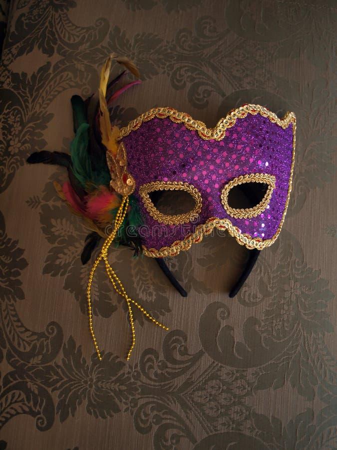 μάσκα υφάσματος 6 καρναβάλ στοκ εικόνες