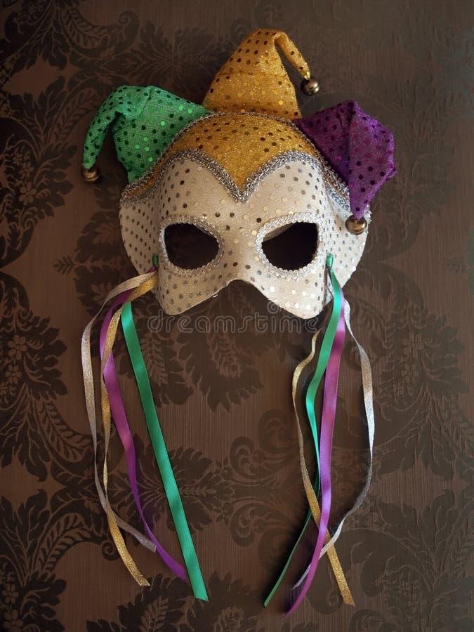 μάσκα υφάσματος 7 καρναβάλ στοκ εικόνες