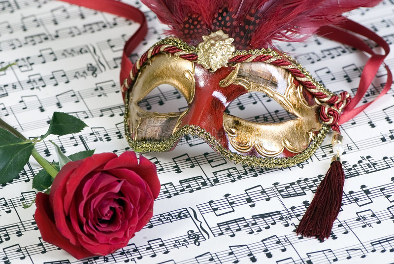μάσκες Βενετός στοκ φωτογραφία με δικαίωμα ελεύθερης χρήσης