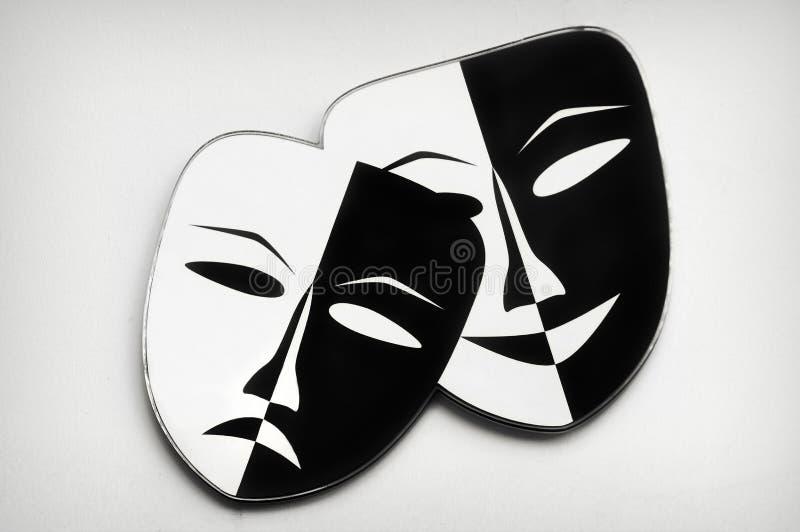 Μάσκες θεάτρων στοκ φωτογραφίες