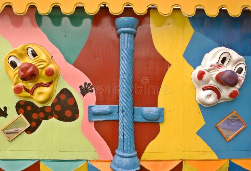 μάσκες κλόουν στοκ φωτογραφίες