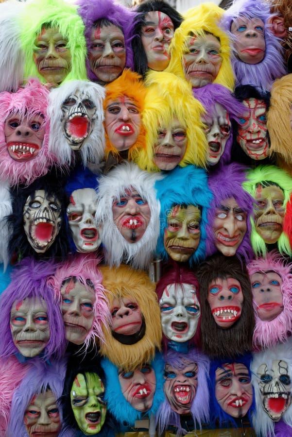 Μάσκες οδών στοκ φωτογραφία με δικαίωμα ελεύθερης χρήσης