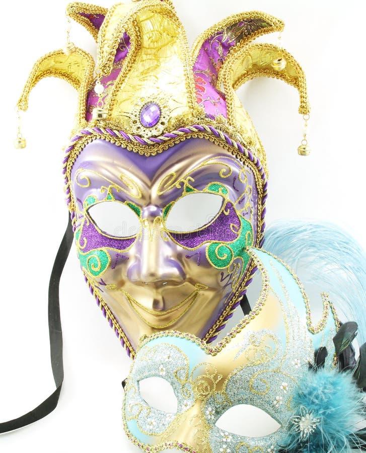 Μάσκες της Mardi Gras στοκ φωτογραφία