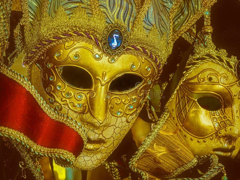 Μάσκες της Mardi Gras στοκ εικόνα με δικαίωμα ελεύθερης χρήσης