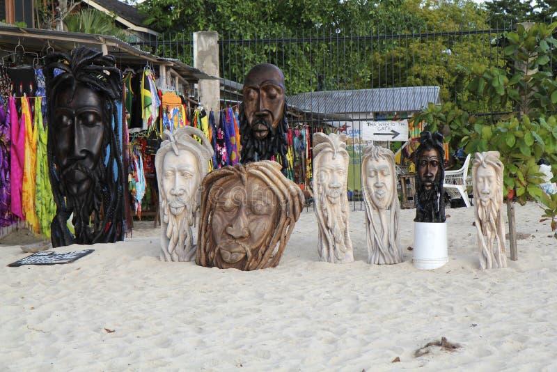 Μάσκες του Bob Marley στοκ εικόνες με δικαίωμα ελεύθερης χρήσης