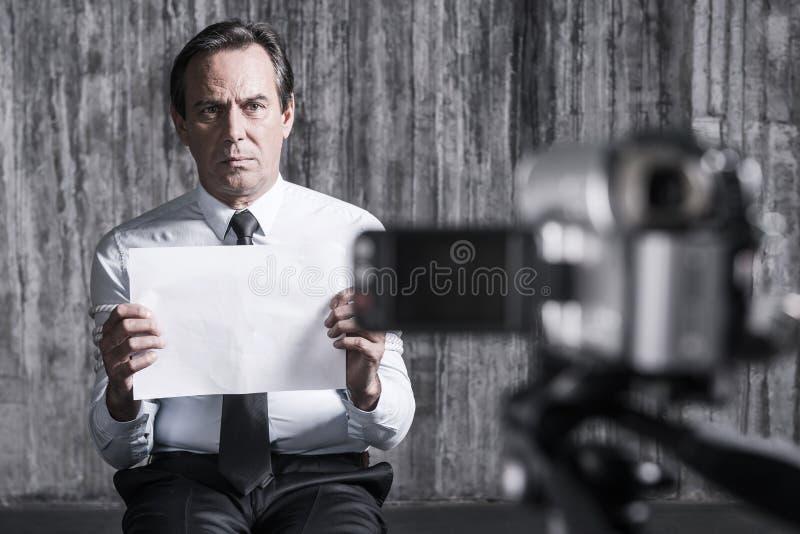 Μάταιος όμηρος στοκ φωτογραφίες με δικαίωμα ελεύθερης χρήσης
