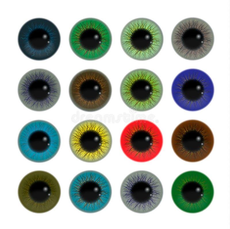 μάτια που τίθενται απεικόνιση αποθεμάτων