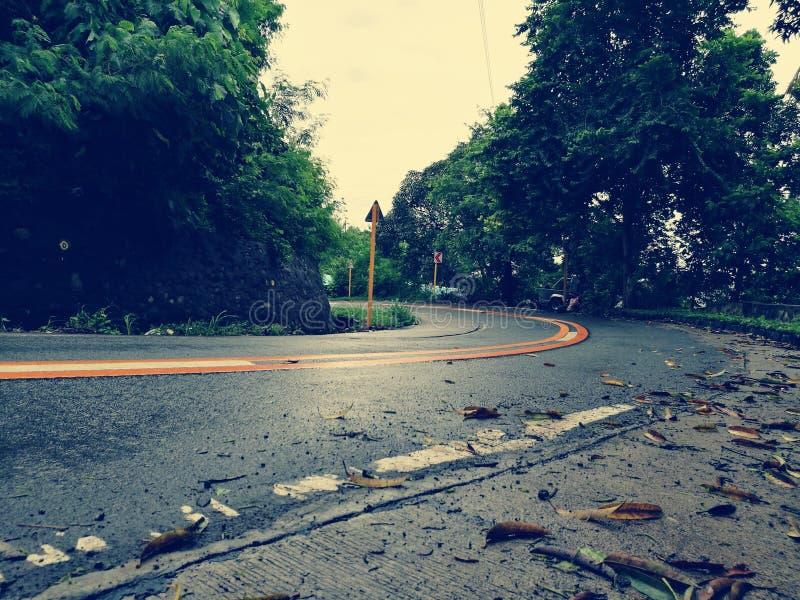 Μάτια στο δρόμο παρακαλώ στοκ φωτογραφίες